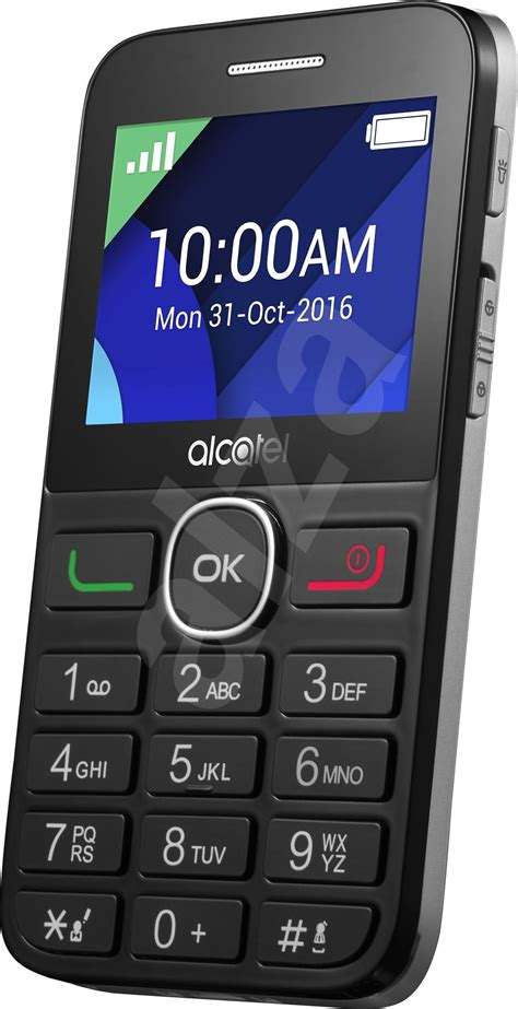 Alcatel Onetouch 2008g Blacksilver  Mobile Phone
