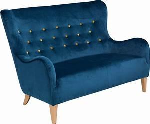 Retro Sofa 2 Sitzer : max winzer 2 sitzer sofa melina im retrolook mit farbigen zierkn pfen breite 149 cm online ~ Bigdaddyawards.com Haus und Dekorationen