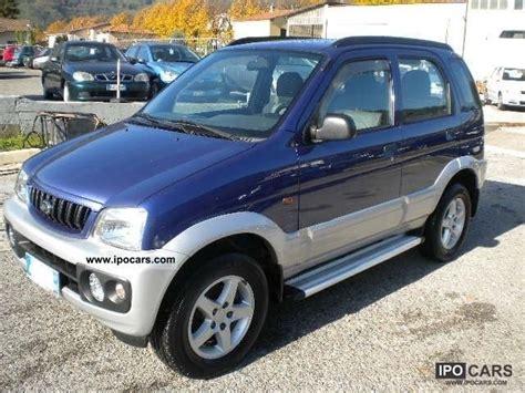2002 Daihatsu Terios 1.3i 16v Sx 4wd Cat
