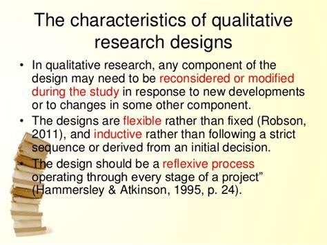 qualitative research design design of qualitative research