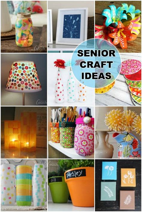 crafts  seniors easy crafts  senior citizens