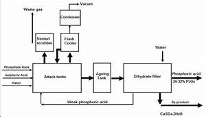 Flow Diagram Of Dihydrate Process  Efma  2000a