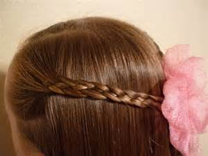 Four Strand Flat Braid