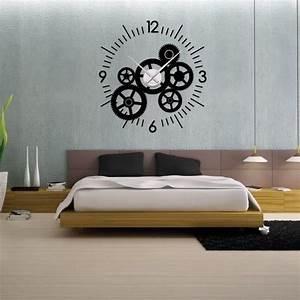 Mecanisme Horloge Geante : les 25 meilleures id es de la cat gorie stickers horloge sur pinterest mur d 39 horloges horloge ~ Teatrodelosmanantiales.com Idées de Décoration
