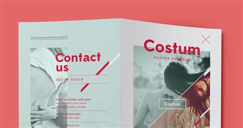 costum bi fold brochure template brochure templates