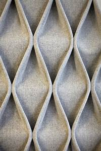 Cable fabric decorative acoustical panels by anne kyyr?