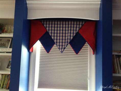 Bedroom Valances by Boys Bedroom A Board Mounted Valance Window Treatments