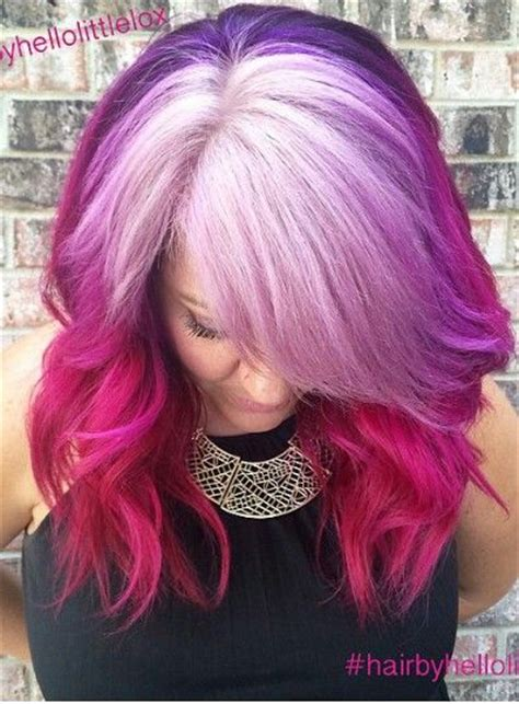 25 Beautiful Unnatural Hair Color Ideas On Pinterest