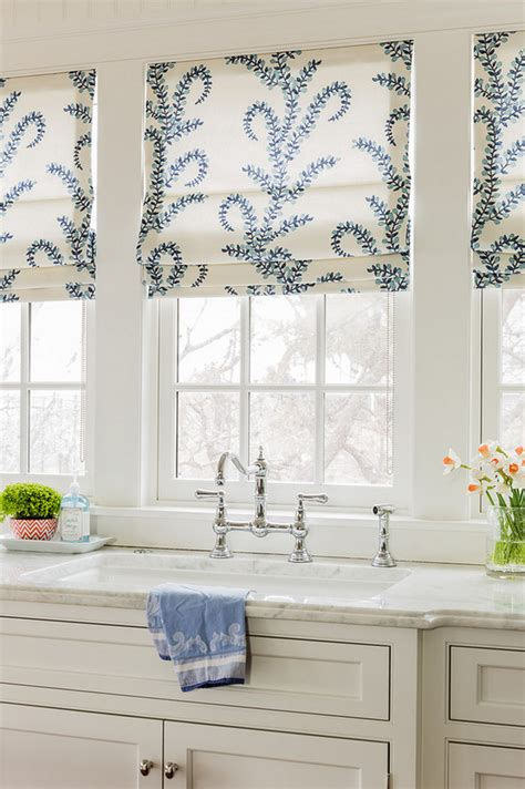 curtain ideas for kitchen windows house with coastal interiors home bunch interior
