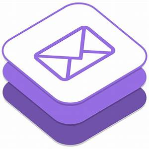 Email Icon iOS8 Style Social Iconset