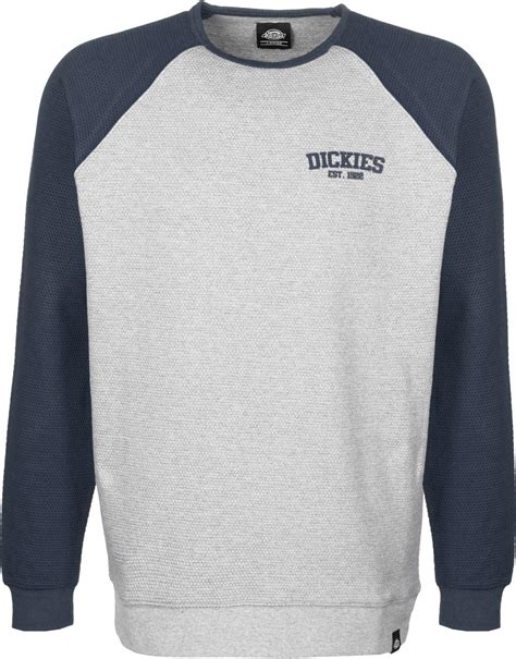 dickie sweater dickies hickory ridge sweater blue grey