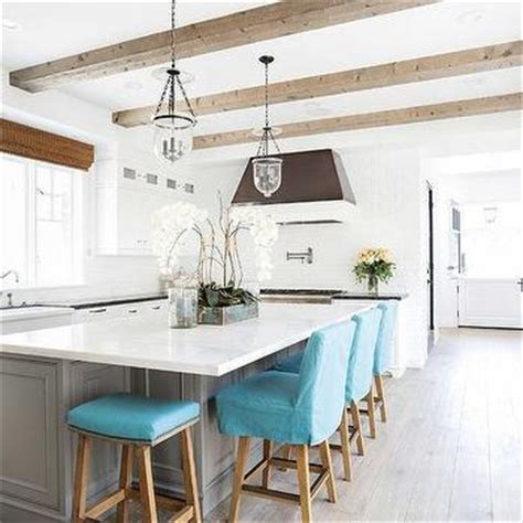 turquoise kitchen island cottage kitchen island with turquoise blue barstools