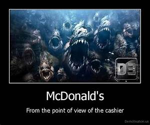 McDonald'sFrom the point of view of the cashierDe ...