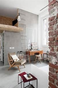 Amenager Petit Balcon Appartement : am nager un petit appartement loft ~ Zukunftsfamilie.com Idées de Décoration