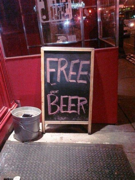funny  creative bar signs thatll   step