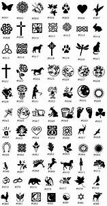 Celtic Symbols And Meanings Chart Ideas  Celtic Symbols