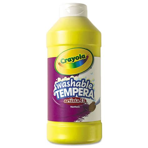 Cyo543115034 Crayola Artista Ii Washable Tempera Paint Zuma