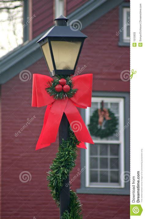 christmas l post decoration ideas christmas l post stock image image of dark celebrations 1515933