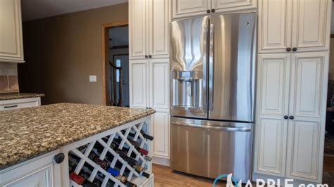 florence gold granite kitchen countertops