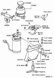 2001 Toyota Rav4 Power Steering Reservoir  Reservoir  Vane Pump Oil