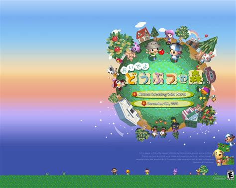 Where Do You Buy Wallpaper In Animal Crossing New Leaf - animal crossing world ds by blaklitegraphics on