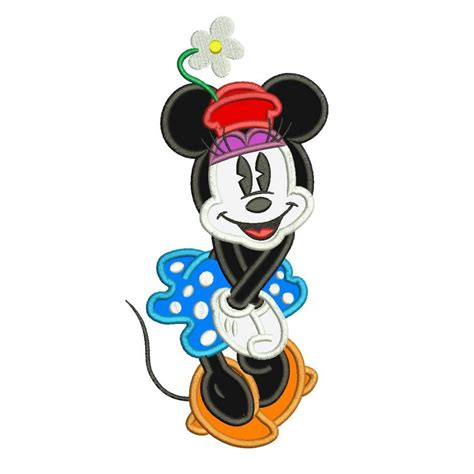 Embroidery And Applique Designs by Minnie Mouse Applique Designs