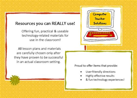 lesson plans activities for those who teach computer