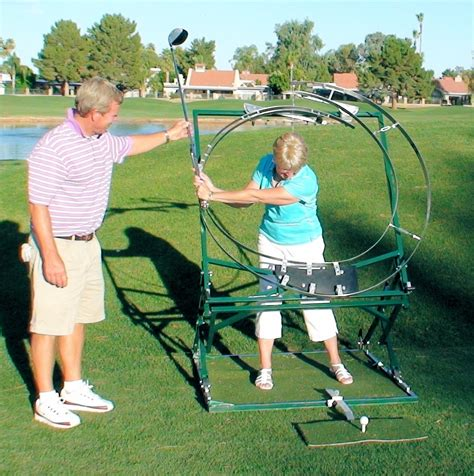 swing machine sure swing golf machine purtzer golf media