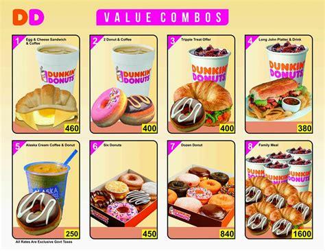 Dunkin Donuts Karachi   Menu & Deals   KFoods