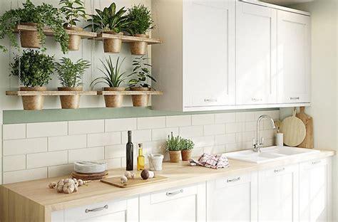 bq brookfield kitchen cream cupboards wooden worktop