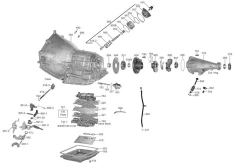 Powerglide Transmission Diagram by Cast Iron Powerglide Transmission Parts Diagram