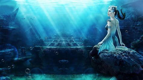 Hd Mermaid Wallpaper Wallpapersafari