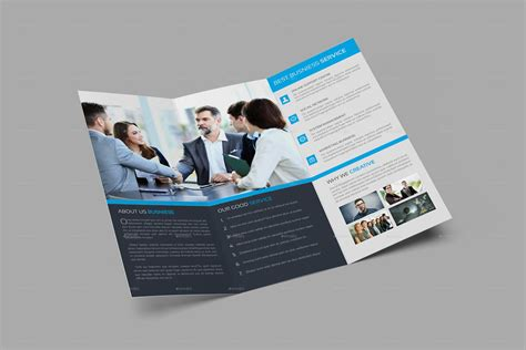 4 Page Brochure Template Free 4 Page Brochure Template Free Best Clean Corporate Tri