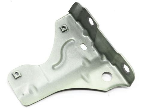 rh front fender mount bracket   vw beetle silver