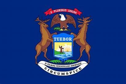 Michigan Wikipedia Flag Svg Wiki