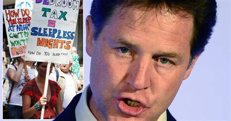 Bedroom Tax To Be Axed by Bedroom Tax Must Be Axed Says Nick Clegg In Dramatic Lib