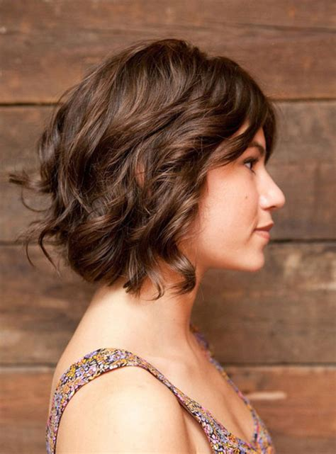 curly bob hairstyle medium length 14   Want a Bob But You