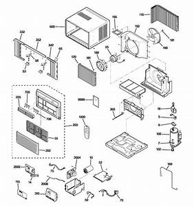 Room Air Conditioner Diagram  U0026 Parts List For Model