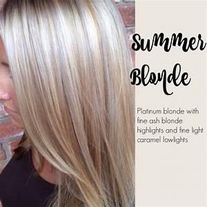 Summer blonde - Platinum blonde with fine ash blond ...