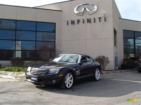 Black Chrysler Crossfire by 2004 Black Chrysler Crossfire Limited Coupe 24493091
