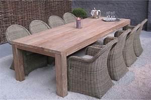 Table En Teck Jardin : table rectangulaire en vieux teck massif mod le primitive ~ Melissatoandfro.com Idées de Décoration