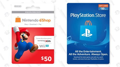 Choose one of the many payment methods and receive the playstation store card immediately in your mailbox. Download a $50 Nintendo Or PlayStation Gift Card For Just $44