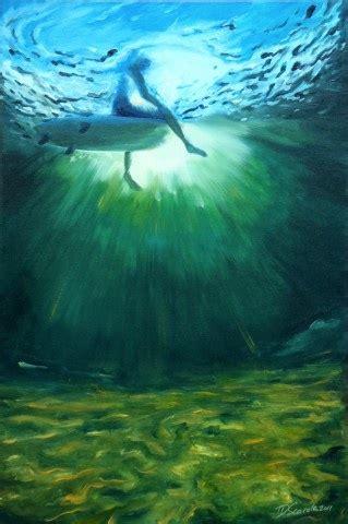 Ocean Paintings Art