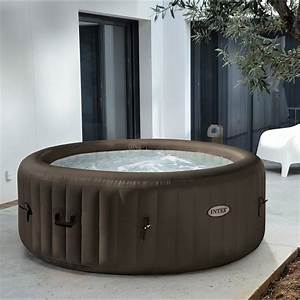 Spa Gonflable INTEX Purespa Jets Rond 4 Places Assises