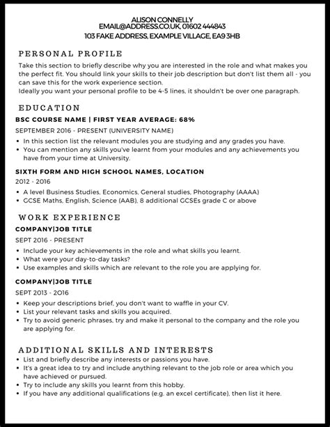 how to write your cv exles letters free sle letters