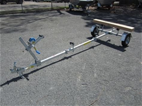 Used Folding Boat Trailer Qld by Dunbier Folding Boat Trailer Auction 3005 7000820