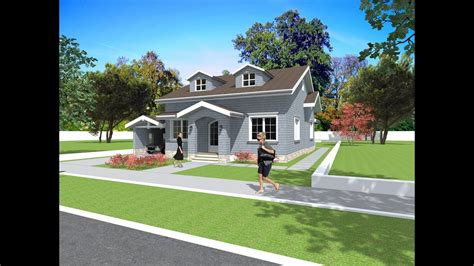 bungalow house plan  design american style house