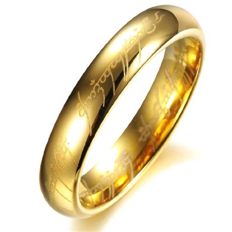 opk jewelry fashion tungsten carbide couple rings 18k gold