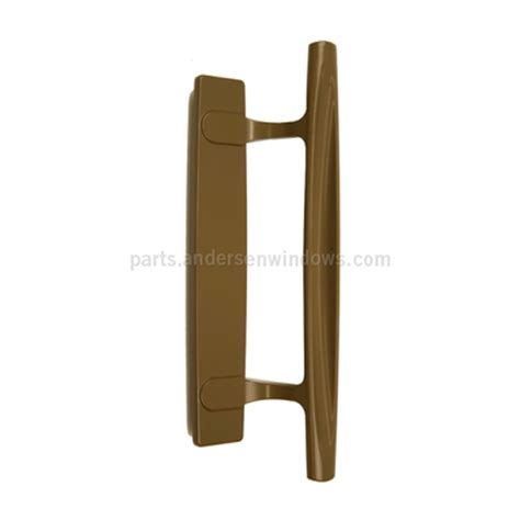 stone exterior gliding patio door handle andersen windows patio doors andersen  series