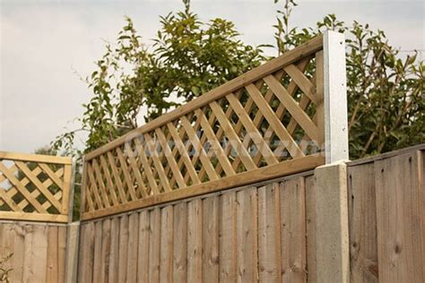 Trellis Fence Extension by Extend Height Of A Fence Increase The Height Of Your